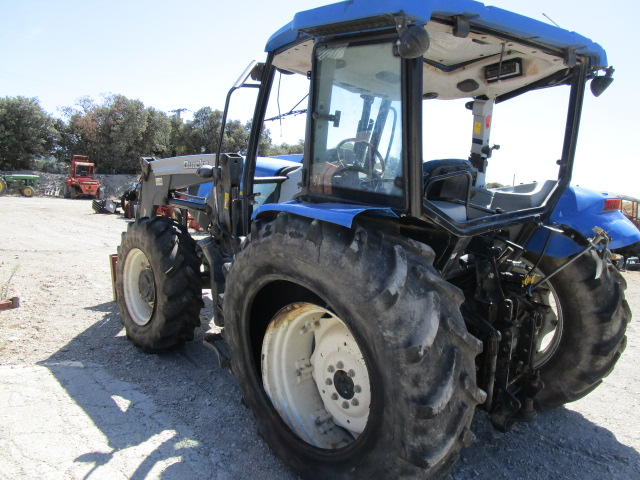 TRACTEUR NEW HOLLAND T5040