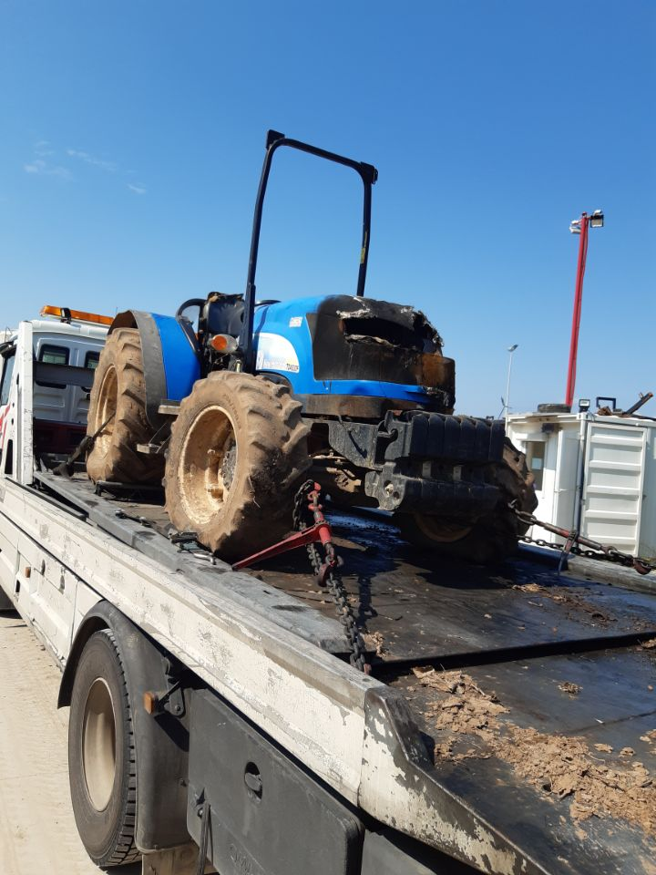 TRACTEUR NEW HOLLAND TD4030F