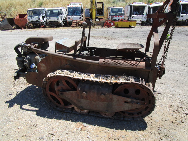 TRACTEUR CHENILLES RANSOME MG6
