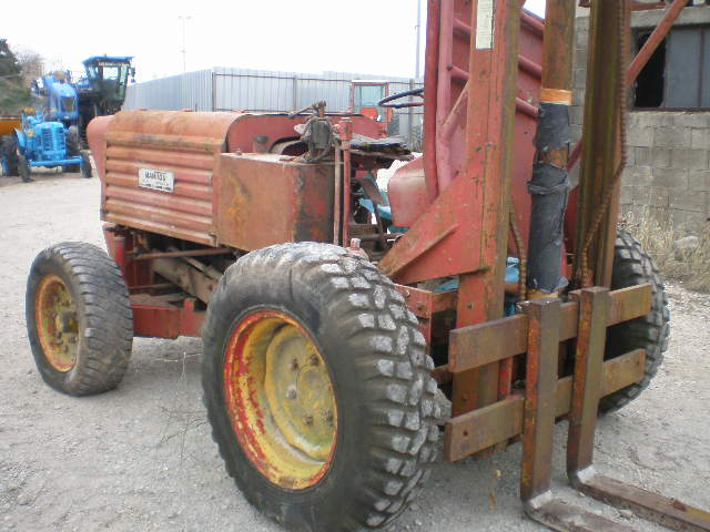 CHARIOT ELEVATEUR MANITOU MG6